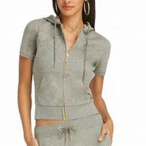 New York & Co gray 2 pc. sweatsuit set size SMALL